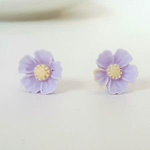 [3 for $12] Flower Stud Earrings